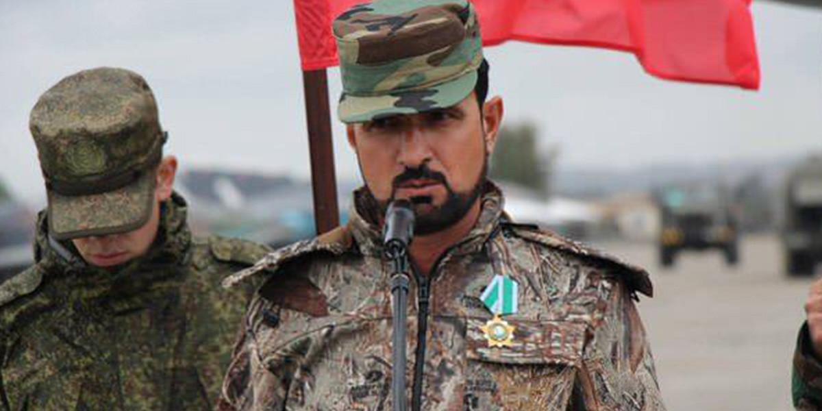 Rejimin eli kanlı komutanı SİHA ile vuruldu