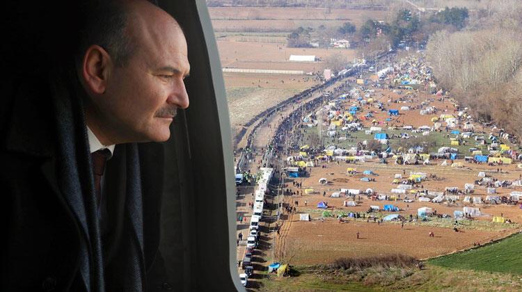 Bakan Soylu açıkladı: PÖH'ler Yunanistan sınırına gidiyor