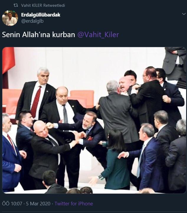 AK Partili milletvekilinden çirkin paylaşım