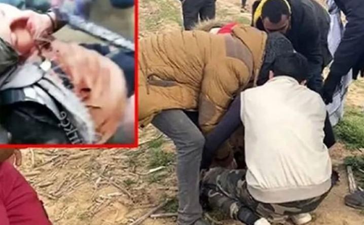 Yunanistan polisi sınırda hamile göçmeni vurdu