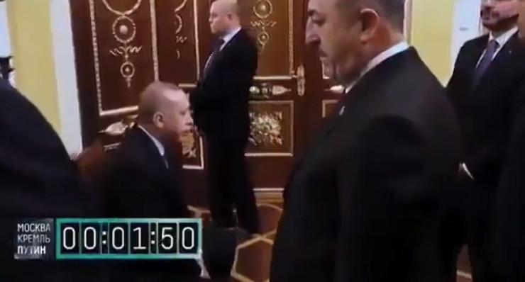 Rus medyası Erdoğan - Putin zirvesinin perde arkası görüntüleri yayınladı