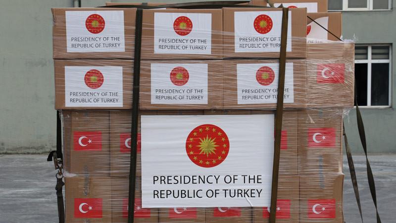"""İYİ Partili Ümit Özdağ: ''Bu yardımı kim yapıyor, Erdoğan mı, Türkiye mi ?"""""""