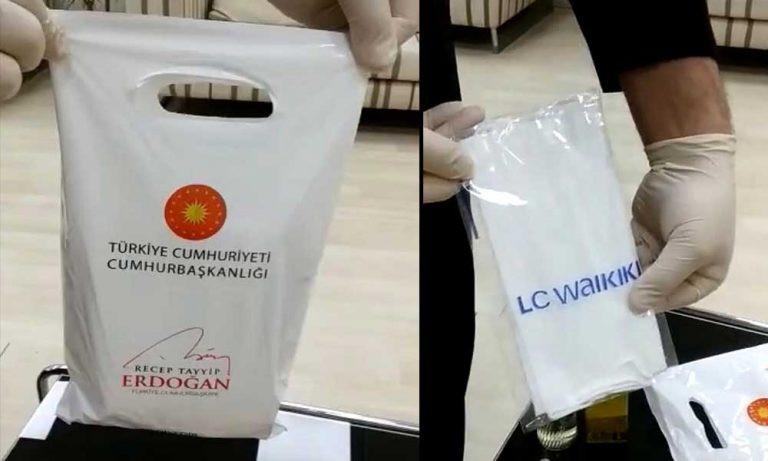 Kolonya ve maske yardım paketine Cumhurbaşkanlığı Forsu