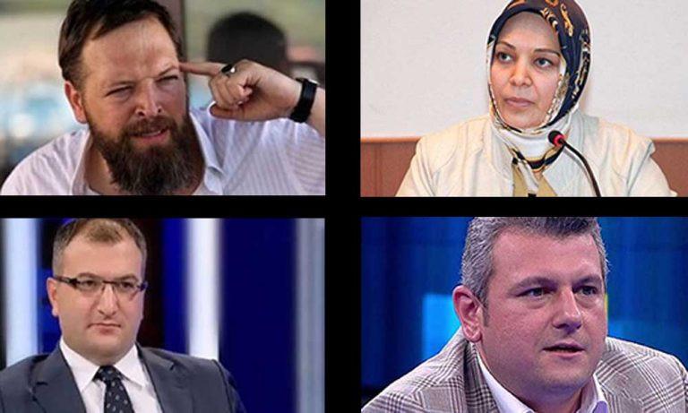 Fatih Tezcan, Hilal Kaplan, Ersoy Dede ve Cem Küçük'ün adlarını verdi