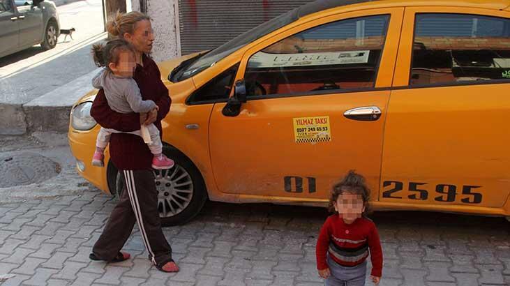 İki çocuğuyla beraber karısını sokağa attı !