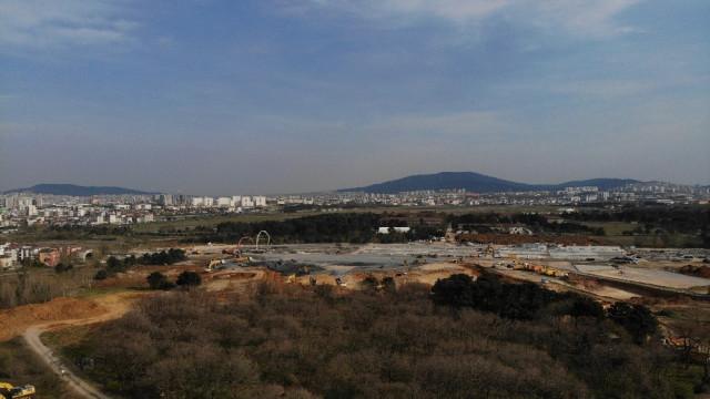 Sancaktepe'deki hastane inşaatında 9. gün! Son durum havadan görüntülendi - Resim: 2