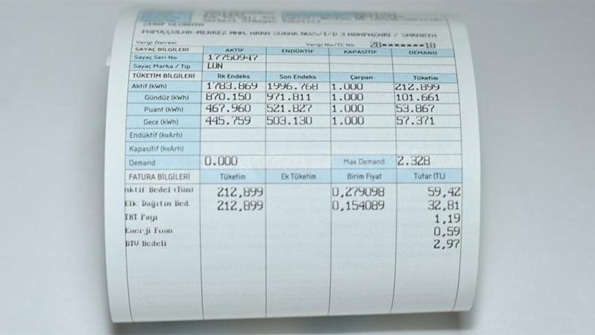 Bakan'dan elektrik ve doğalgaz faturaları çıkışı !