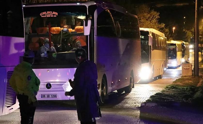 İngiltere'den getirilen Türk vatandaşları karantinada