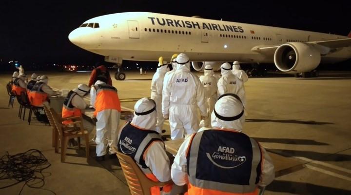 Yurt dışından getirilen vatandaşlar yurtlara yerleştirildi