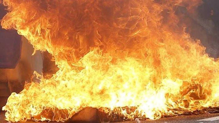 İstanbul'da korkutan yangın! Sabaha kadar sürdü!