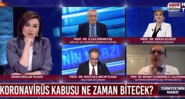 Habertürk canlı yayınında olay! Prof. Çilingiroğlu yayını terk etti