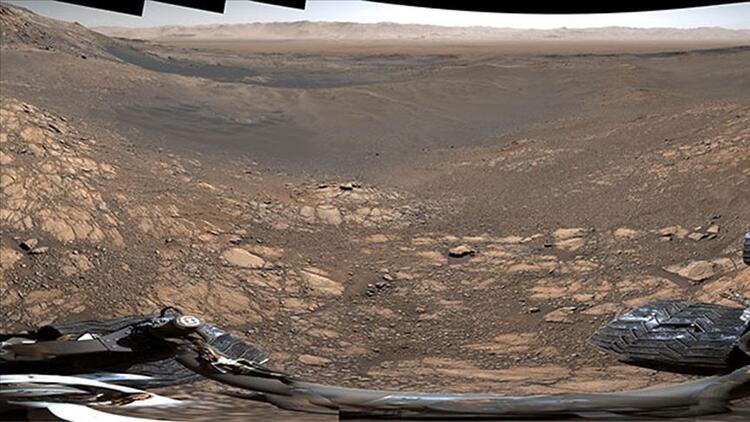 NASA'nın Mars'tan paylaştığı bu görüntüler olay yarattı