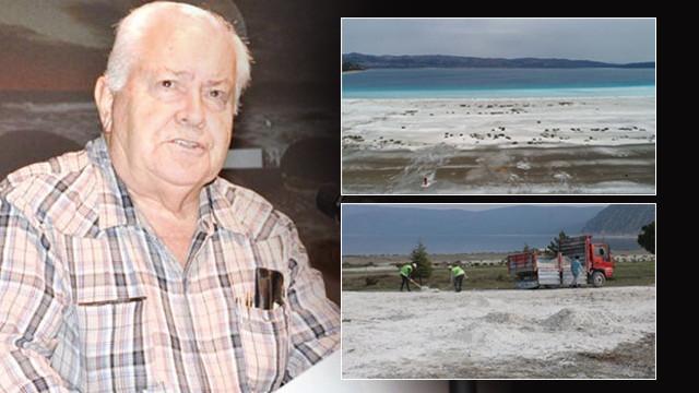Salda Gölü için kritik uyarı: O kum değil huntit