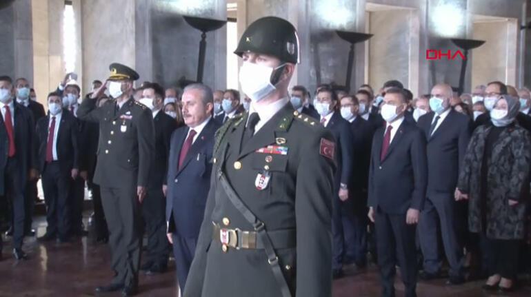 Meclis 100 yaşında! Anıtkabir ve Meclis'te tören...