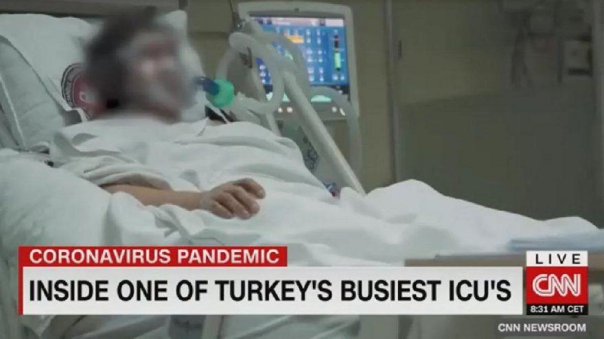 CNN Türkiye'deki en kritik yoğun bakım alanına girdi !