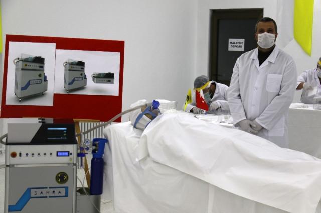 Yerli solunum cihazı ''Sahra'' seri üretime geçiyor