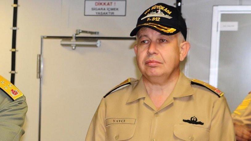 Türk amirale ölüm tehditleri