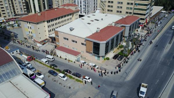 İstanbul'da yasak sonrası korkutan görüntü