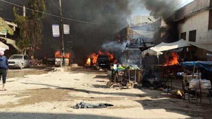Afrin'deki hain saldırının görüntüleri ortaya çıktı !