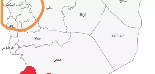 Esad'ın skandal koronavirüs haritası !