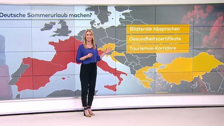 Alman televizyonu tatil için Türkiye'yi önerdi