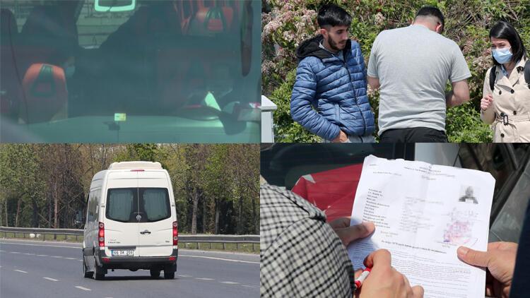 İstanbul'da ''sahte seyahat belgesi'' pazarlığına suçüstü