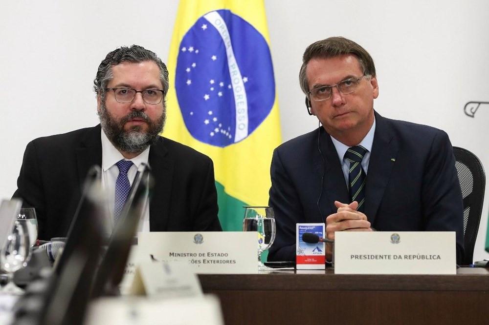 Brezilya Devlet Başkanı: Bu virüs yağmur gibidir
