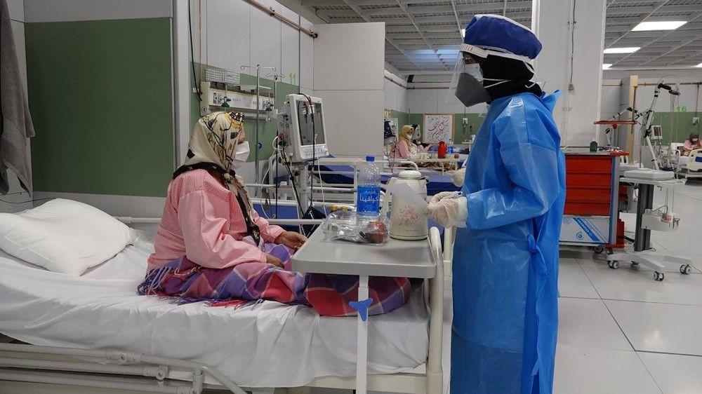 Dev alışveriş merkezi 3 bin yataklı hastaneye dönüştürüldü