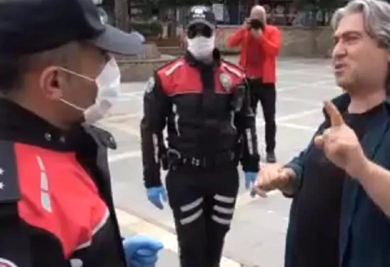 Polis ne diyeceğini bilemedi: Adanalı vatandaş koronavirüsü böyle tanımladı