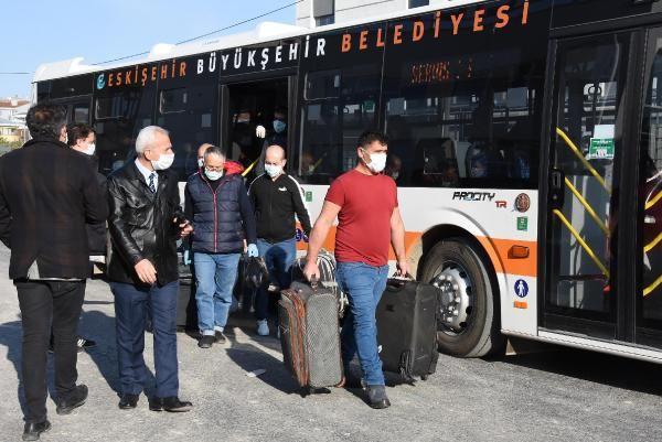Türk işçiler ve iş adamları karantinaya alındı
