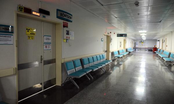 Pandemi hastanesi böyle görüntülendi