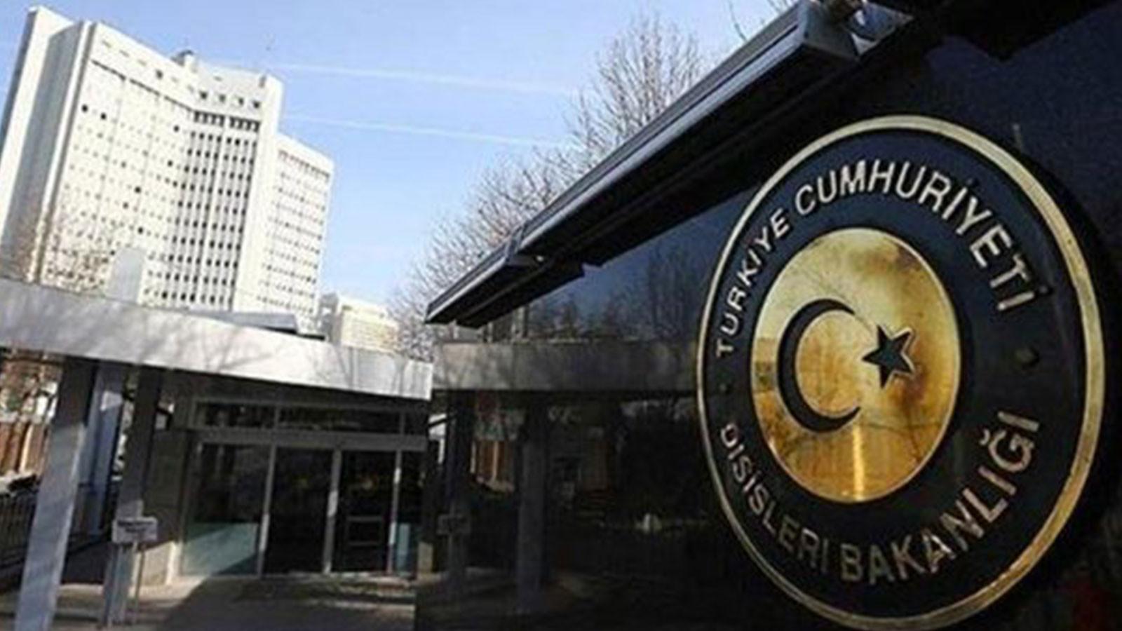 Ankara'dan Birleşik Arap Emirlikleri'ne sert tepki