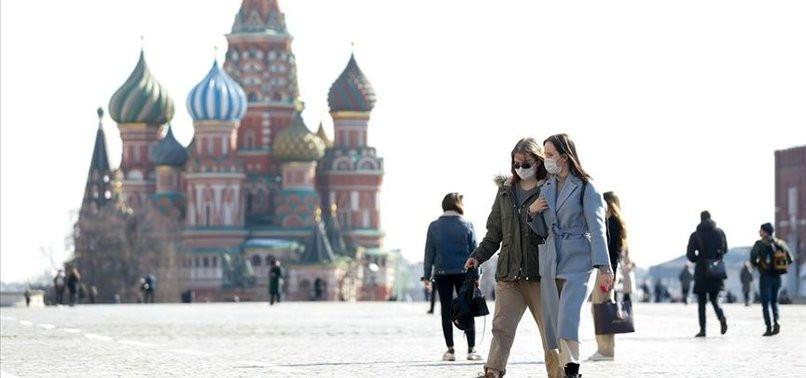 Rusya'daki vaka sayısı İtalya ve İngiltere'yi geçti