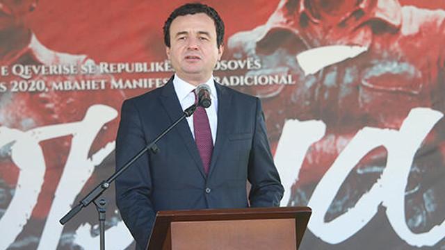 Kosova Başbakanı koronavirüs riski nedeniyle kendini tecrit etti