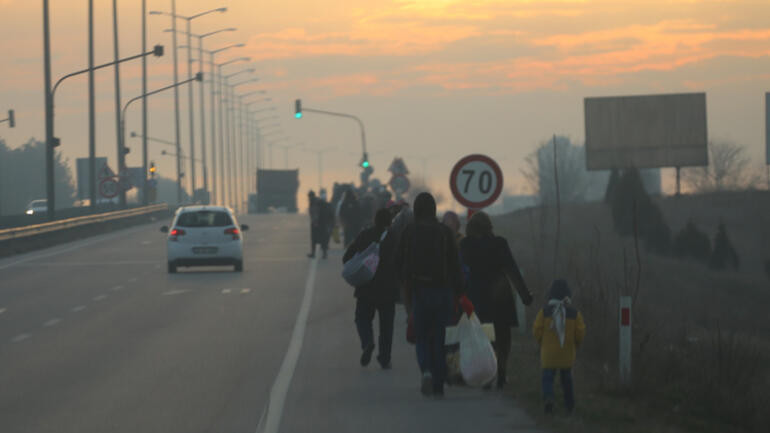 ''Sığınmacıları otobüslere doldurup doldurup gönderdik''