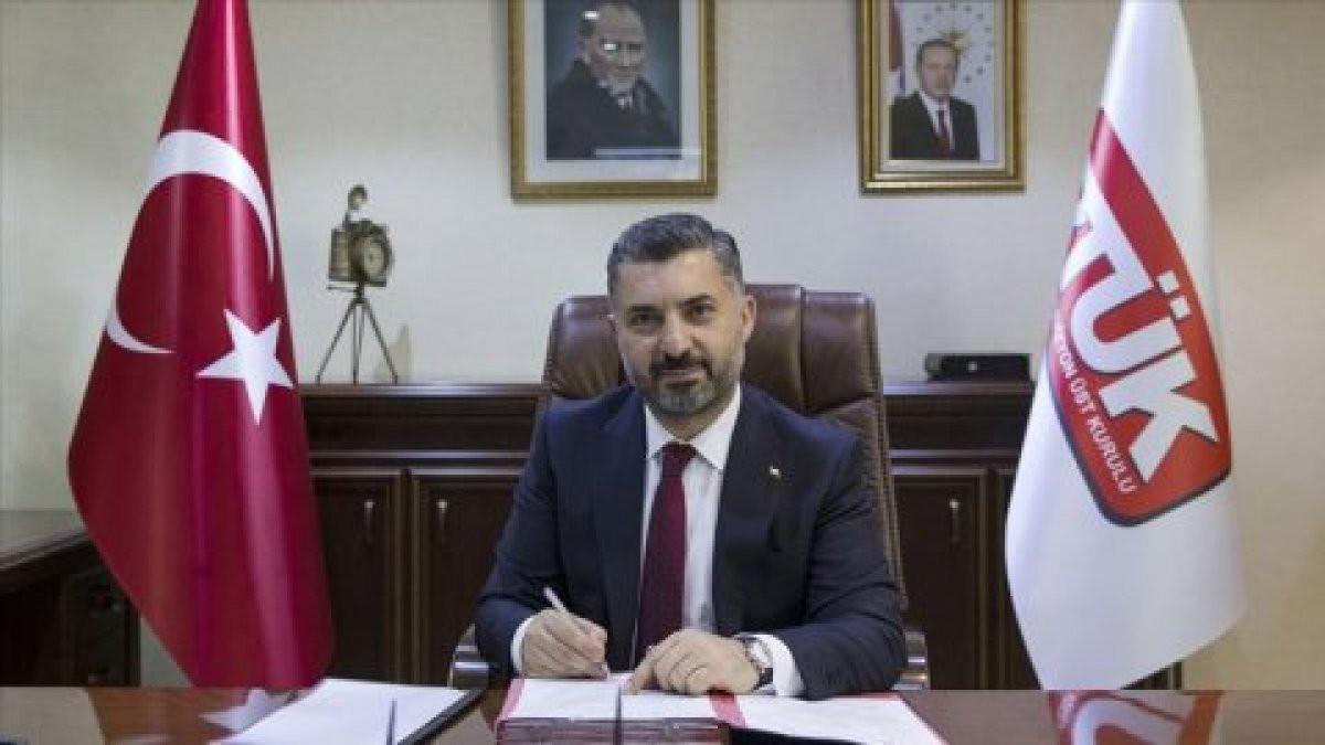 RTÜK Başkanı'ndan Sevda Noyan açıklaması