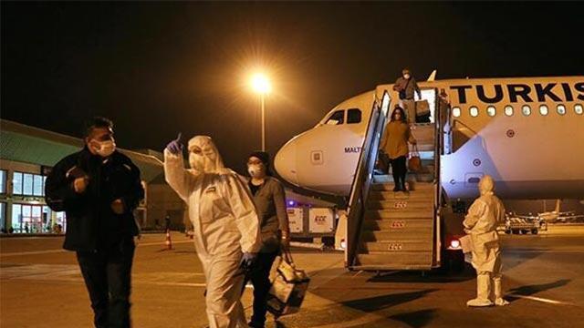 Yurt dışından getirilen vatandaşların sayısını açıklandı!
