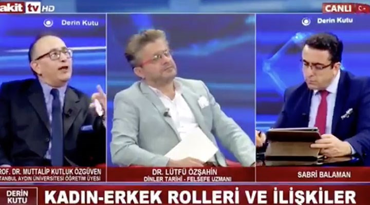 Akit TV'deki canlı yayında skandal sözler