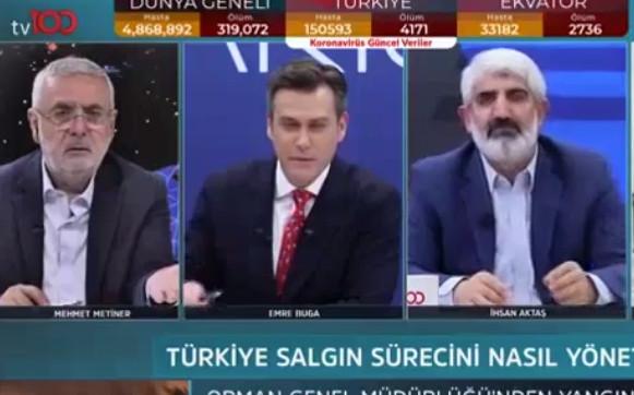 AK Partili Mehmet Metiner: ''Ben de Halk TV izliyorum''