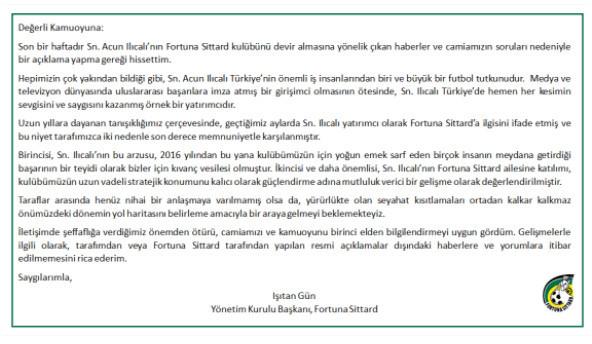 Acun Ilıcalı'nın satın almak istediği kulübün Türk başkanından resmi açıklama!