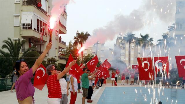 ''19 Mayıs'' tüm Türkiye'de böyle kutlandı!