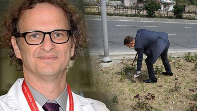 Prof. Dr. Erdamar'ın öldüğü yerde acı detay!