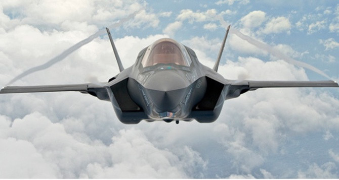ABD'de F-35 savaş uçağı düştü