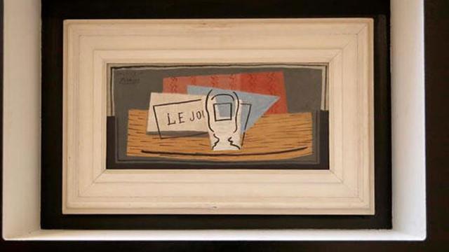 Çekilişle Pablo Picasso'nun 1 milyon avroluk tablosunu kazandı!