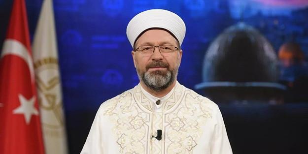 Diyanet İşleri Başkanı Erbaş'tan camilerden şarkı çalınmasına tepki