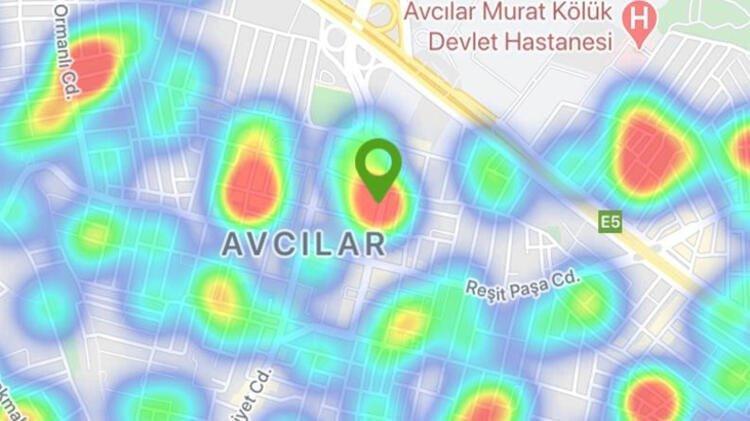İşte ilçe ilçe İstanbul'un koronavirüs risk haritası