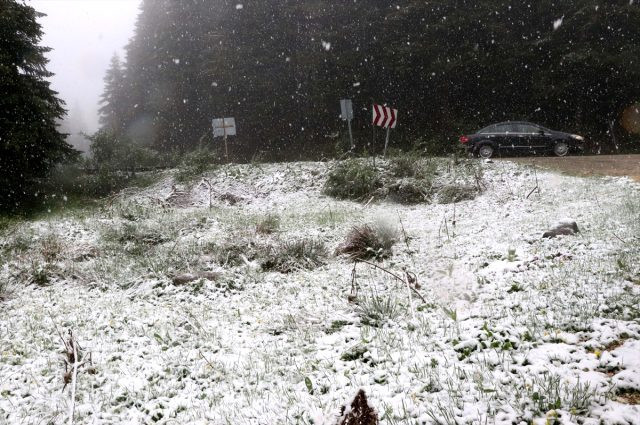 İki ilde mayıs ayında kar yağdı! - Resim: 3