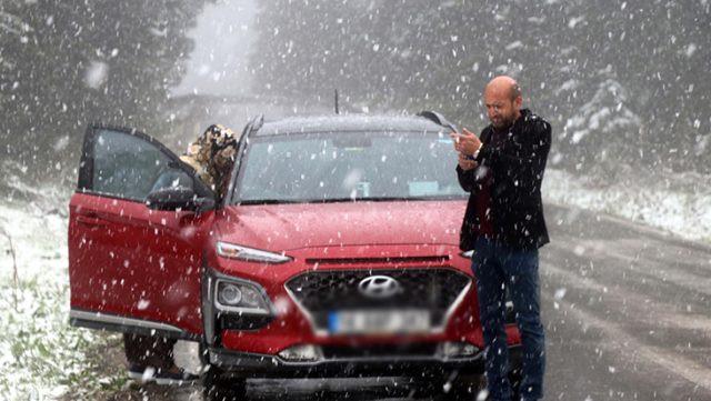 İki ilde mayıs ayında kar yağdı! - Resim: 4
