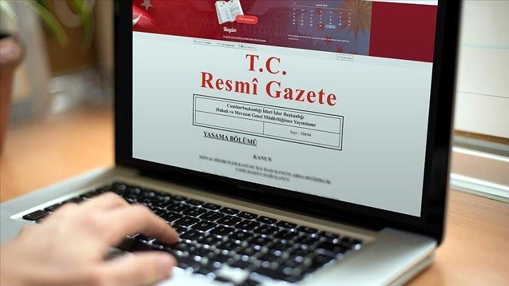 Erdoğan'ın atamaları Resmi Gazete'de