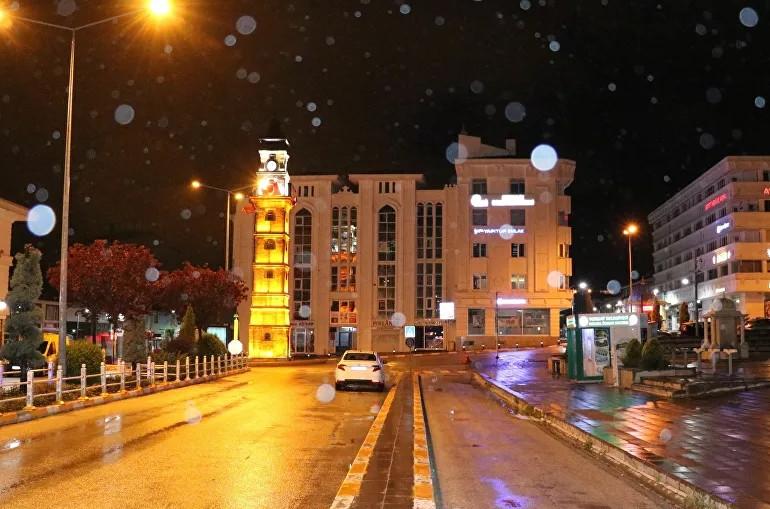 Türkiye'de Mayıs ayında kar yağdı